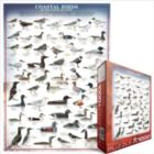 Coastal Birds of the North Atlantic - 1000pc Jigsaw Puzzle by Eurographics