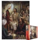 At Jesus' Feet - 1000pc Jigsaw Puzzle by Eurographics