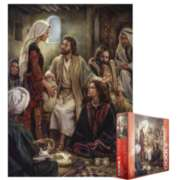 Eurographics Jigsaw Puzzles - At Jesus' Feet