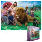 The Lion and the Lamb - 1000pc Jigsaw Puzzle by Eurographics