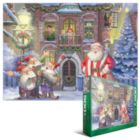 Christmas Carols - 500pc Jigsaw Puzzle by Eurographics