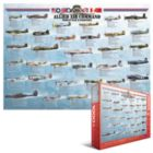 World War II Fighters - 1000pc Jigsaw Puzzle by Eurographics