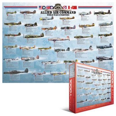 Eurographics Jigsaw Puzzles - World War II Fighters