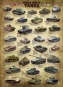 Eurographics Jigsaw Puzzles - World War II Tanks
