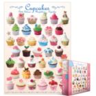 Cupcakes - 1000pc Jigsaw Puzzle by Eurographics