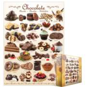 Eurographics Jigsaw Puzzles - Chocolate
