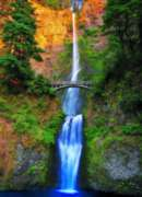Multnomah Falls, OR - 1000pc Jigsaw Puzzle by Eurographics