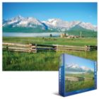 Sawtooth Mountains, ID - 1000pc Jigsaw Puzzle by Eurographics