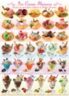Ice Cream Flavours - 1000pc Jigsaw Puzzle by Eurographics