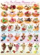 Eurographics Jigsaw Puzzles - Ice Cream Flavours