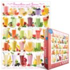 Smoothies and Juices - 1000pc Jigsaw Puzzle by Eurographics
