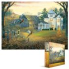 Country Crossing Pheasants - 1000pc Jigsaw Puzzle by Eurographics