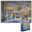Snow Creations - 1000pc Jigsaw Puzzle by Eurographics
