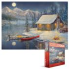 A Cozy Christmas - 1000pc Jigsaw Puzzle by Eurographics