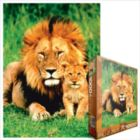 Lion & Baby - 1000pc Jigsaw Puzzle by Eurographics