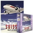 Come to Switzerland by Plane - 1000pc Jigsaw Puzzle by Eurographics