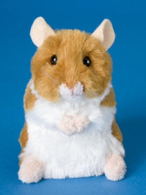 Brushy - 5'' Hamster By Douglas Cuddle Toy