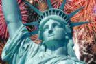 Lady Liberty - 234pc TDC Miniature Jigsaw Puzzle