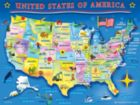 USA Map - 60pc Jigsaw Puzzle by Springbok