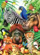 Springbok Jigsaw Puzzles - Animal Magic