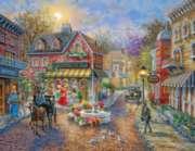 Springbok Jigsaw Puzzles - Cobblestone Village