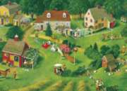 Cobble Hill Jigsaw Puzzles - Back Yards