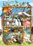 Cobble Hill Jigsaw Puzzles - Birds of the World