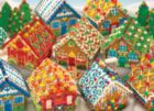 Gingerbread Houses - 400pc Family Style Jigsaw Puzzle By Cobble Hill