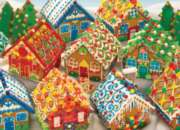 Cobble Hill Jigsaw Puzzles - Gingerbread Houses