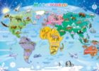 Map of the World - 48pc Jigsaw Puzzle By Cobble Hill