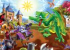 Knights and Dragons - 36pc Jigsaw Puzzle By Cobble Hill