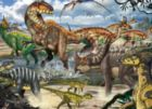 When Dinosaurs Ruled - 60pc Jigsaw Puzzle By Cobble Hill