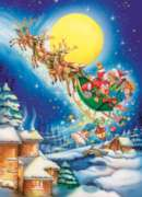 Cobble Hill Children's Puzzles - Merry Christmas to All