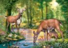 Hidden Images: Peaceful Dawn - 500pc Glow-in-the-Dark Jigsaw Puzzle by Masterpieces