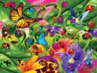 Extreme Color: Ladybug Lane - 300pc EZ Grip Glow-in-the-Dark Jigsaw Puzzle by Masterpieces
