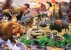 3D Extreme: Call of the Wild - 500pc Lenticular Jigsaw Puzzle by Masterpieces