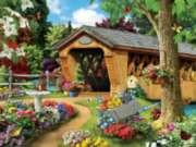 Jigsaw Puzzles - Garden Bridge
