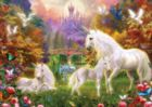 Glitter: Enchanted Kingdom - 500pc Jigsaw Puzzle by Masterpieces