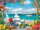 Seaside Retreat - 750pc Jigsaw Puzzle by Masterpieces