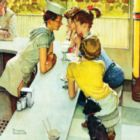 Norman Rockwell: Soda Jerk - 1000pc Jigsaw Puzzle by Masterpieces