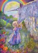 Jigsaw Puzzles - Josephine Wall: Unicorn Kiss