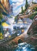 Jigsaw Puzzles - Railways: Silver Belle Run
