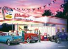 Cruisin': Wally's Service Station - 1000pc Jigsaw Puzzle by Masterpieces