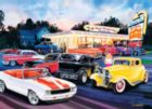 Cruisin': Hot Rod's Drive In - 1000pc Jigsaw Puzzle by Masterpieces