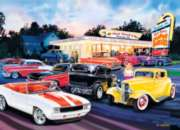 Jigsaw Puzzles - Cruisin': Hot Rod's Drive In