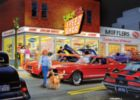 Cruisin': Crazy Ed's Speed Shop - 1000pc Jigsaw Puzzle by Masterpieces