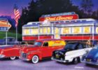 Cruisin': Dinner at the Red Arrow - 1000pc Jigsaw Puzzle by Masterpieces