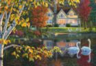 Autumn Reflections - 1000pc EZ Grip Jigsaw Puzzle by Masterpieces