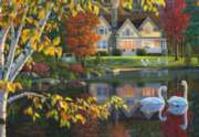 Jigsaw Puzzles - Autumn Reflections