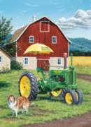 Jigsaw Puzzles - John Deere: My Two Best Friends